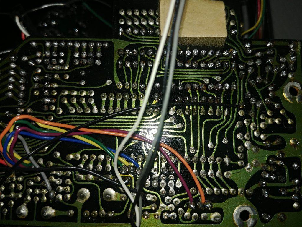 Digitalni modul, donja strana - pre lemljenja